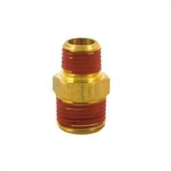 Bostitch - 38 Male Thread to14 Male Thread HEX NIPPLE REDUCER - 38M-14M