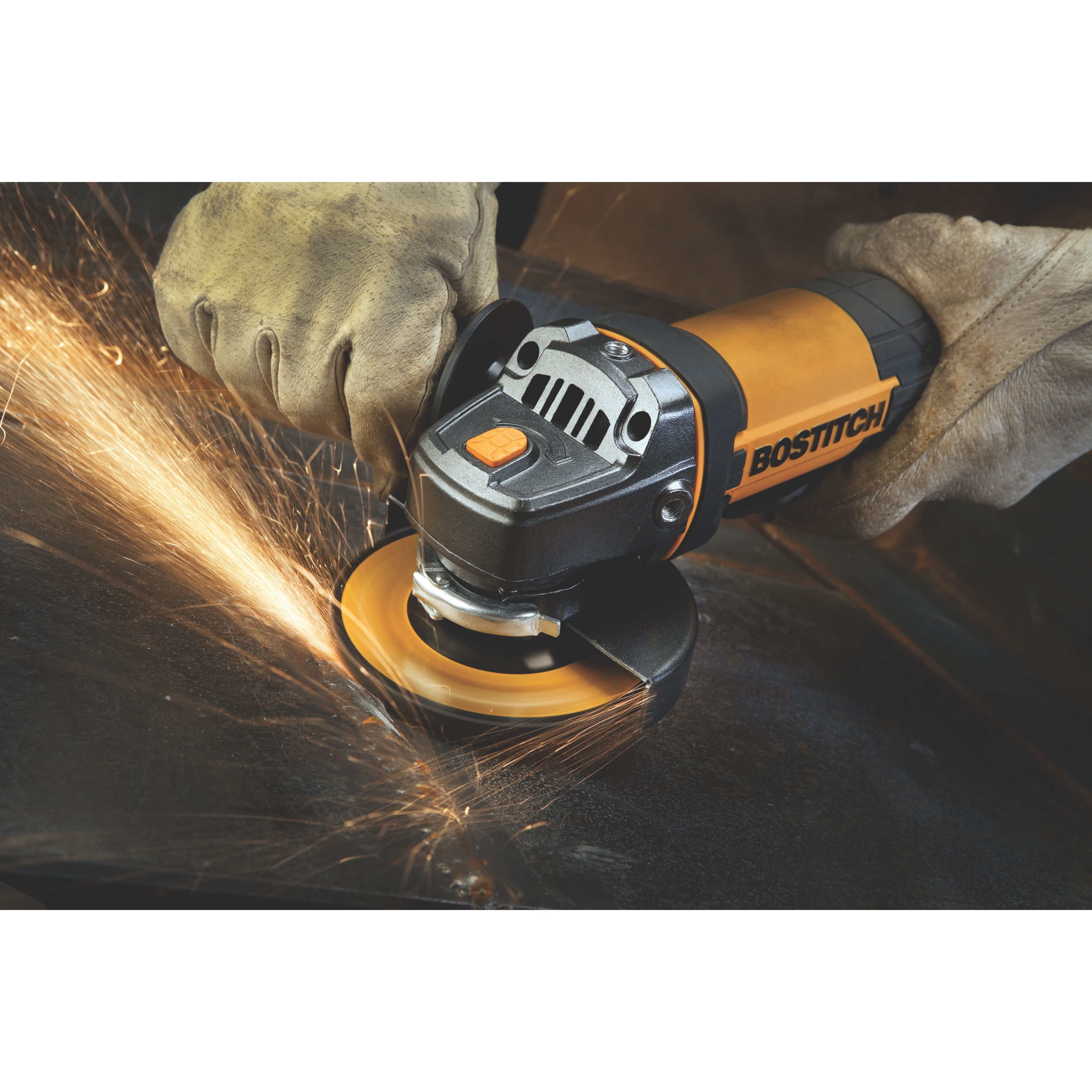 Bostitch - 7 Amp 412 Angle Grinder Kit - BTE820K
