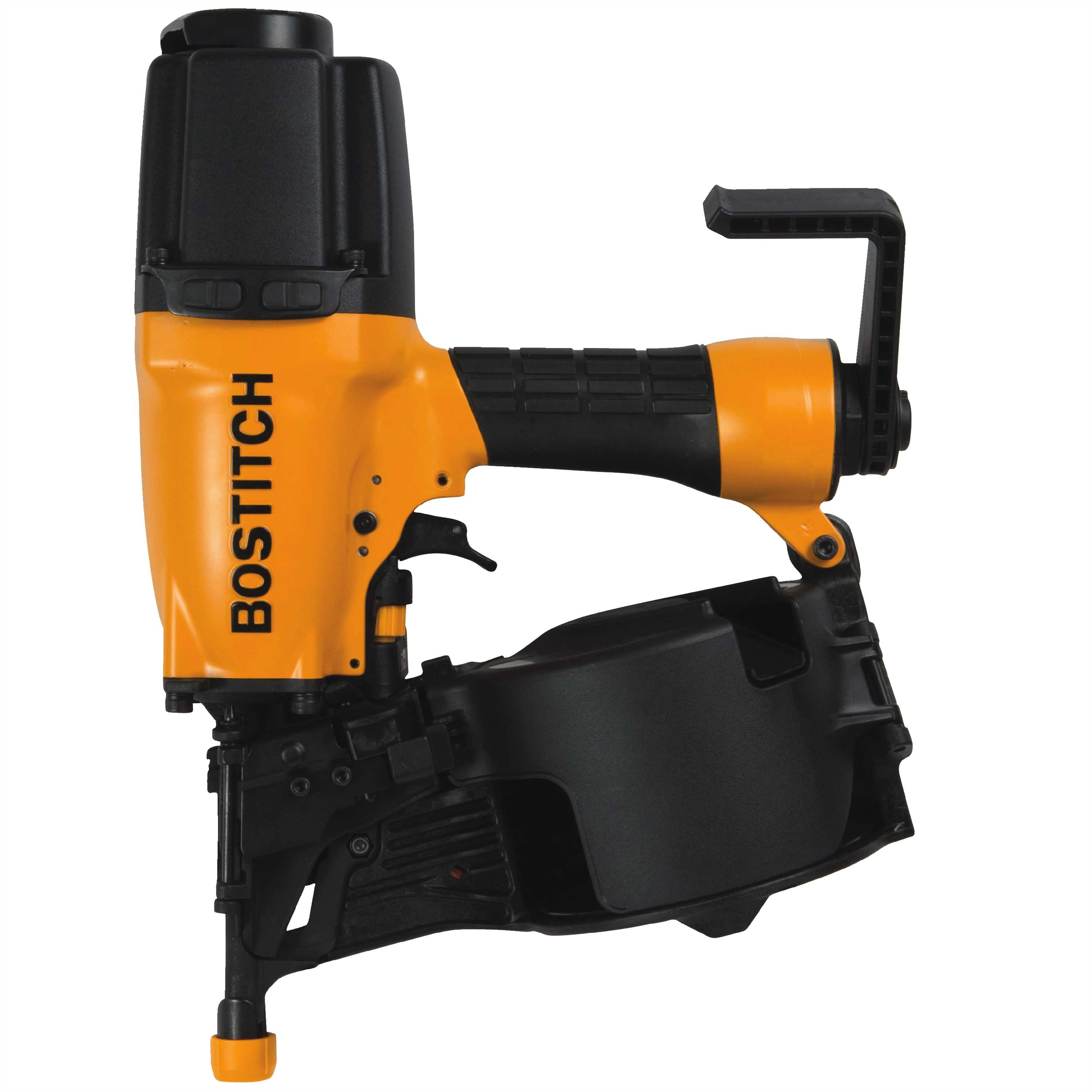 Bostitch - 15 Degree Coil Sheathing and Siding Nailer - N75C-1